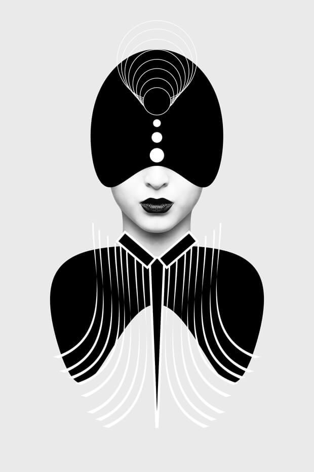 Mintsquare_achromatic_portraits_Nikolaz_Bionika