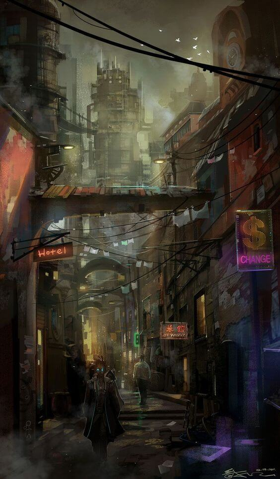 unserious introduction to cyberpunk
