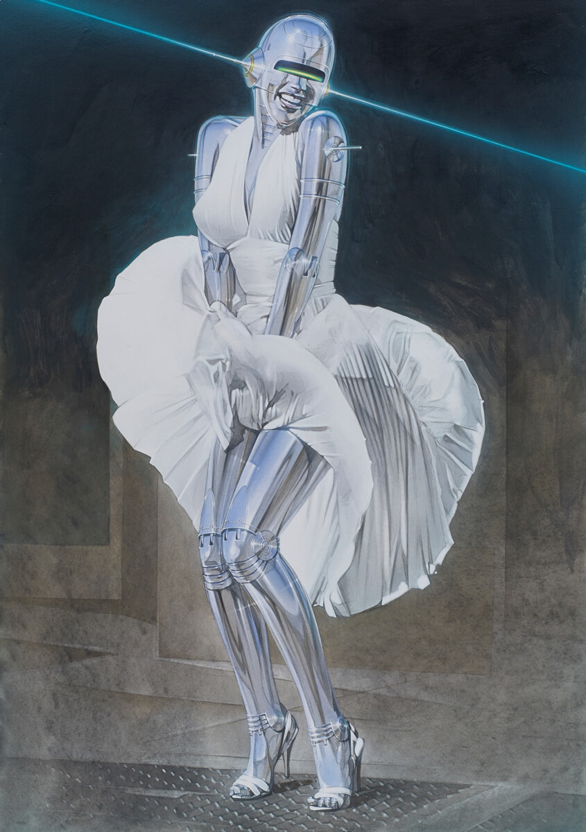 Mintsquare_selected_Sexy Robots_Hajime Sorayama
