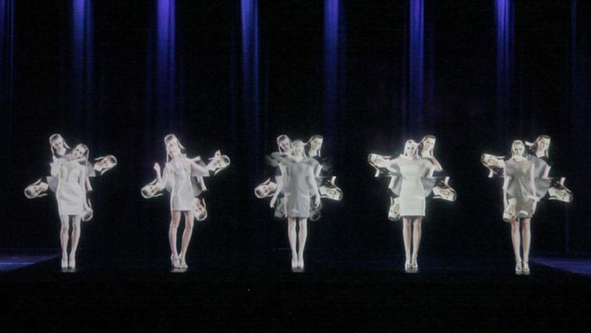 Mintsquare_Holographic Voyage in Fashion_Stefan Eckert_Space Blues Symphony
