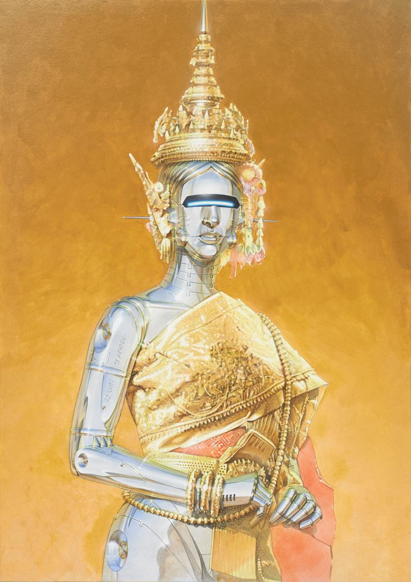 "Mintsquare_selected_""Superrealism"" in Sorayama's Latest Exhibition"