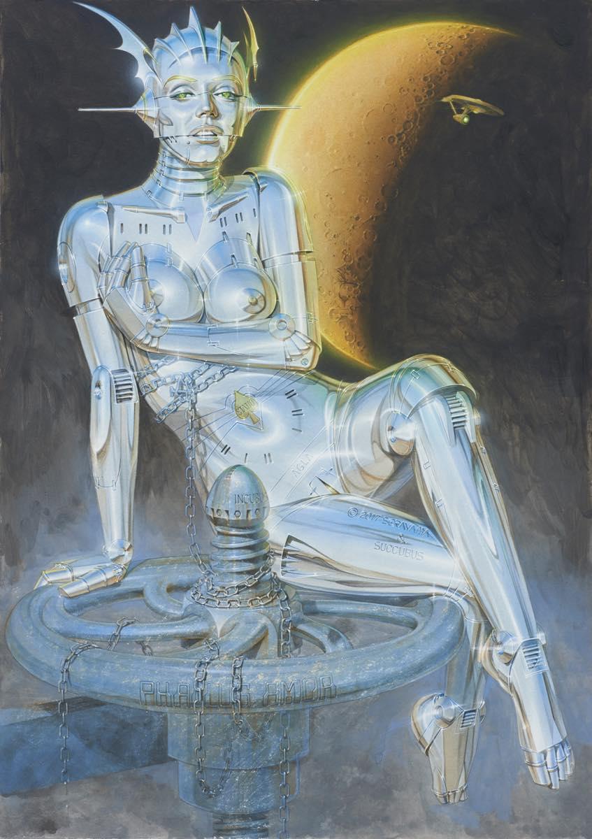 "Mintsquare_selected_""Superrealism"" in Sorayama's Latest Exhibition"