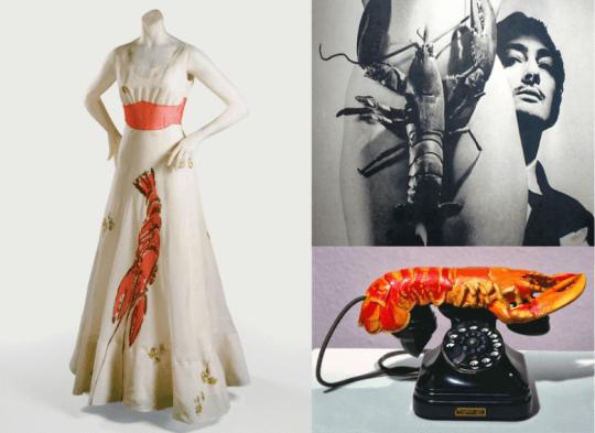 The Lobster Dress, Elsa Schiaparelli & Salvador Dalí, 1937