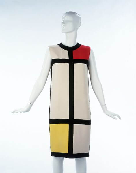 The Mondrian Collection, Yves Saint Laurent inspired by Piet Mondrian, 1965