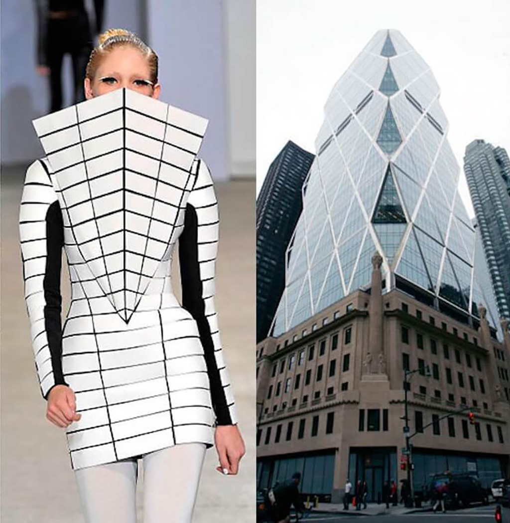 Architectural Fashion Mintsquare Gareth Pugh Norman Foster