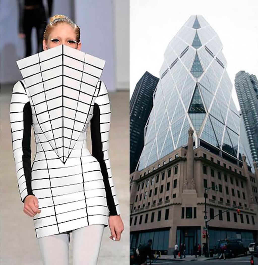 Architectural Fashion Mintsquare Gareth Pugh Norman Foster