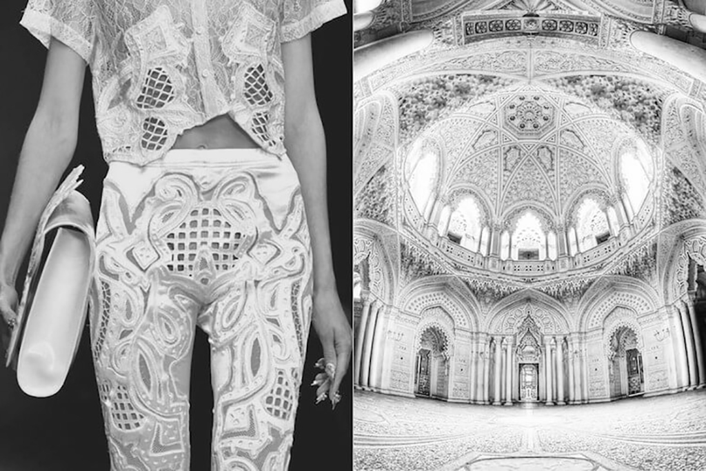 Architectural Fashion Mintsquare KTZ SS13 & Castle of Sammezzano
