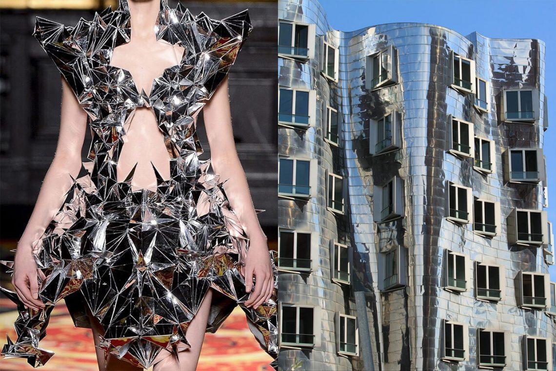 Mintsquare_fashion_Iris van Herpen & Frank Gehry