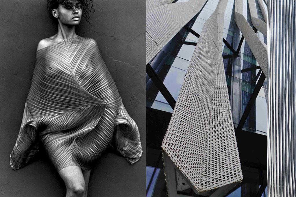Mintsquare_fashion_Issey Miyake &Kengo Kuma