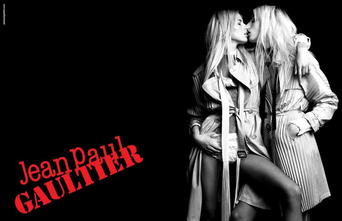Genderless Fashion Mintsquare fashion Karolina Kurkova and Andreja Pejic, Jean Paul Gaultier Spring 2011 campaign