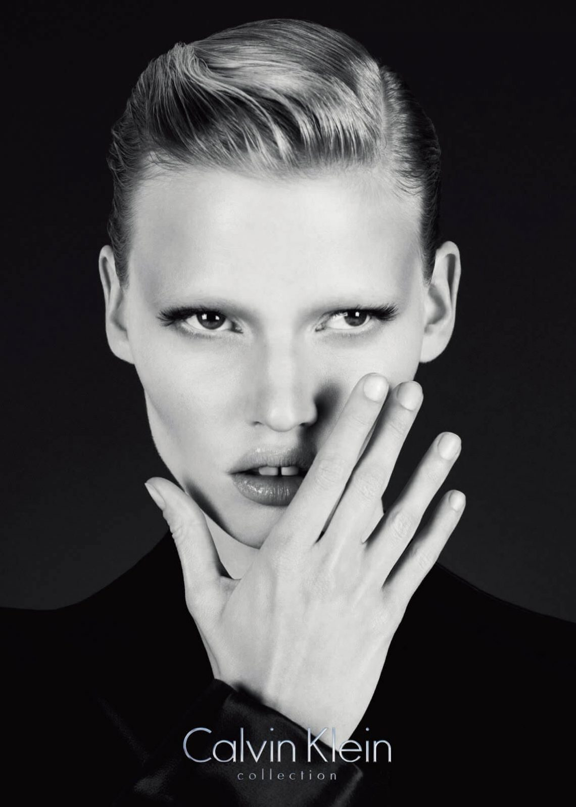Mintsquare_fashion_Lara Stone, the new face for Calvin Klein campaign 2010