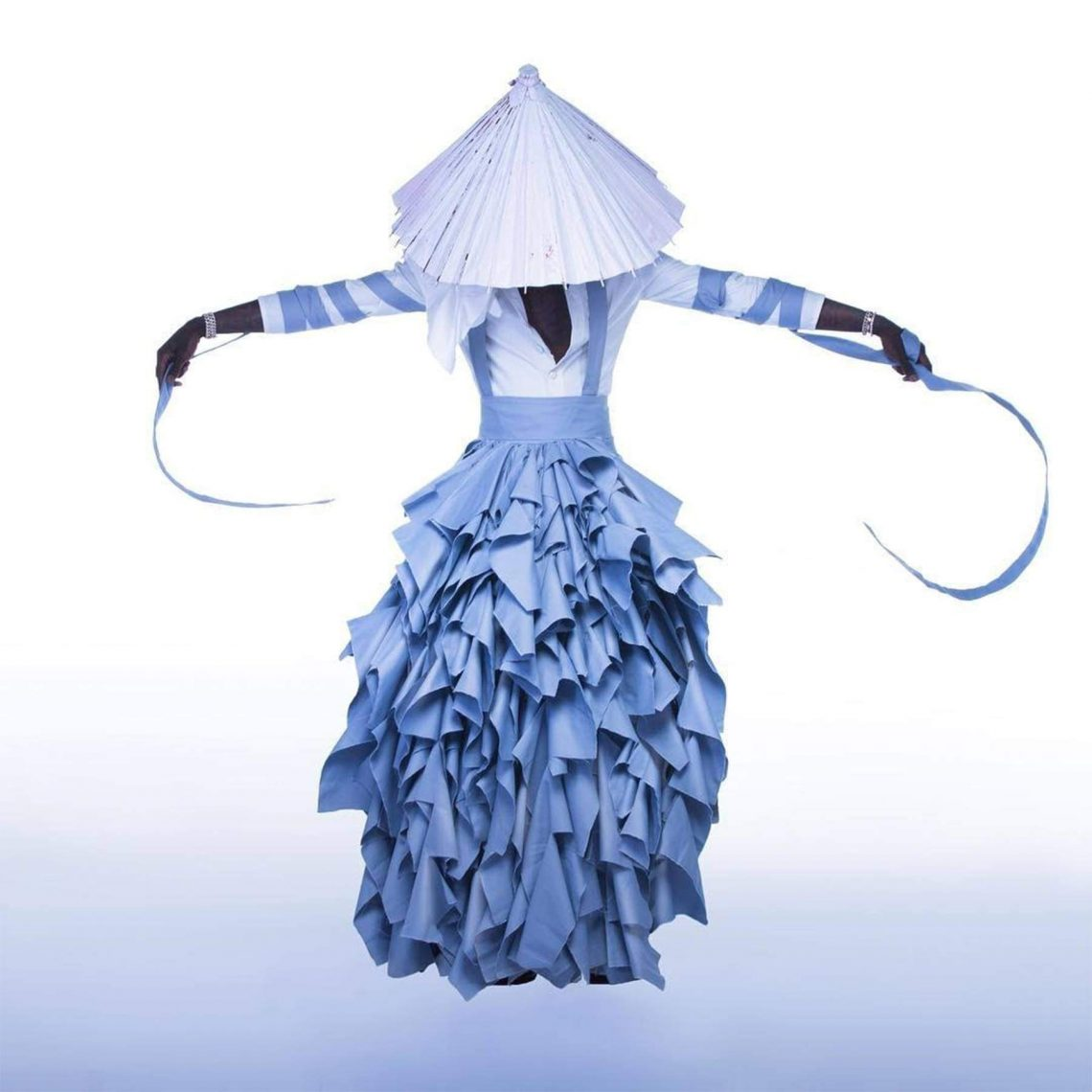 Young Thug, a dress by Alessandro Trincone for the cover of his 2016 album -No, My Name is Jeffery-