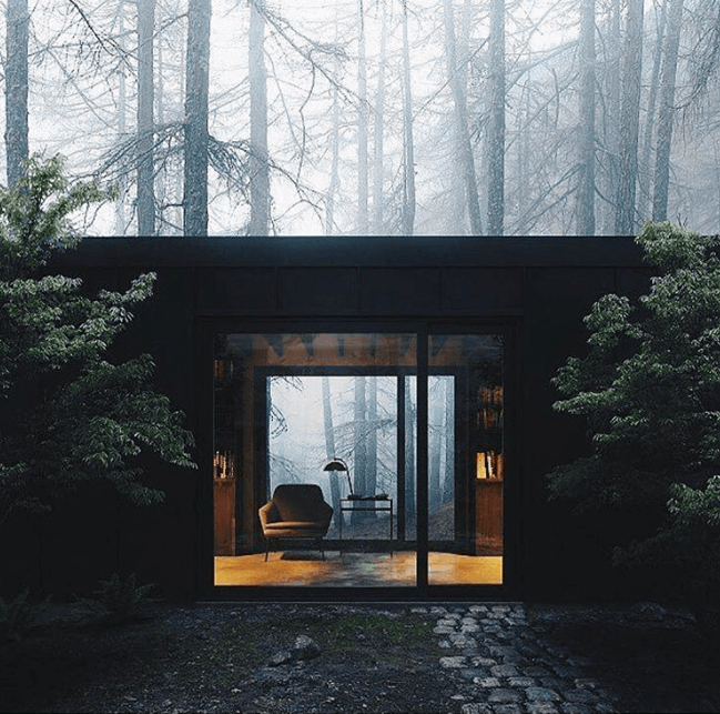 Mintsquare_selected_Into The Woods Mist Home By KAISERBOLD